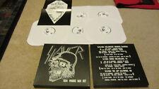 Slayer 1984 WHORE BOX SET 5 LP metallica megadeth exodus venom