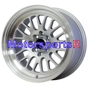 XXR 531 15 x 8 +20 Silver Wheels Rims Stance 4x100 95 03 ...