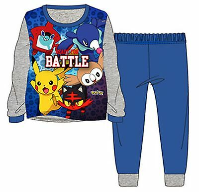 Buono Pokemon Pjs Ragazzi Cotone Nightwear Pigiama Pikachu Kids-mostra Il Titolo Originale