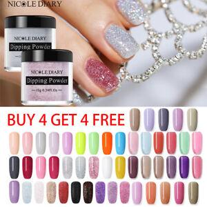 NICOLE-DIARY-Dipping-Acrylic-Powder-Liquid-Nail-Gel-No-UV-Needed-Nail-Art