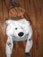 Forever Collectibles Green Bay Packers Dangle Mascot Hat With Tags