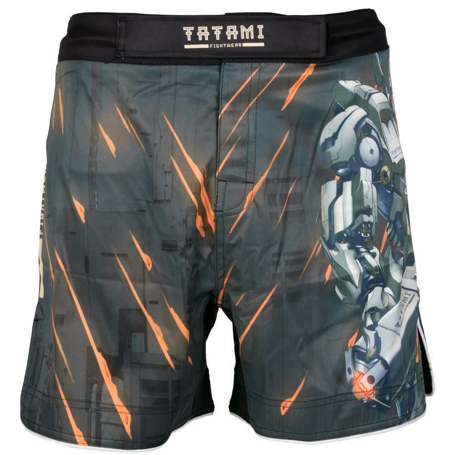 Tatami No Gi Fight Shorts Mech Destroyer Fight Grappling MMA BJJ Shorts Herren