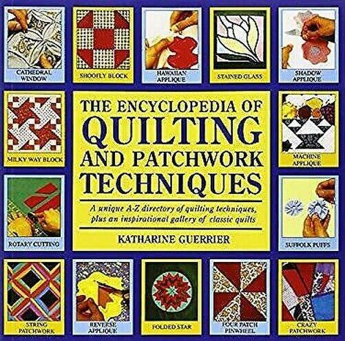 Lexikon Von Quilting Und Patchwork Hardcover Katharine Guerrier