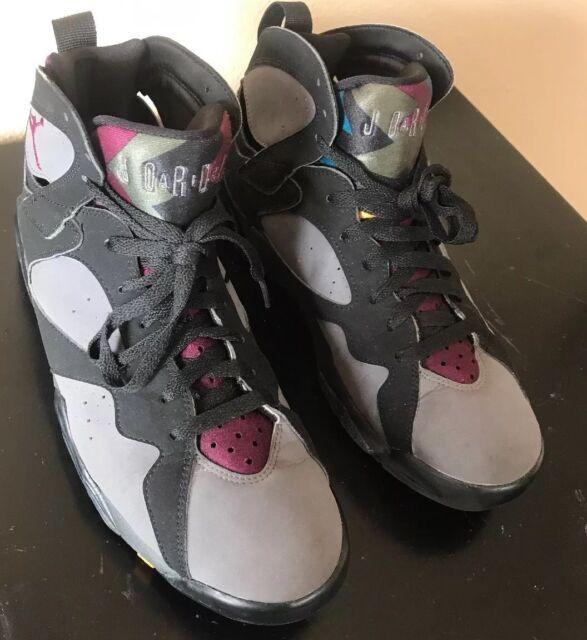 the latest 587e9 16a87 Nike AIR JORDAN 7 VII 2015 Retro Bordeaux 304775-034 Black Burgundy Grey Sz  8.5