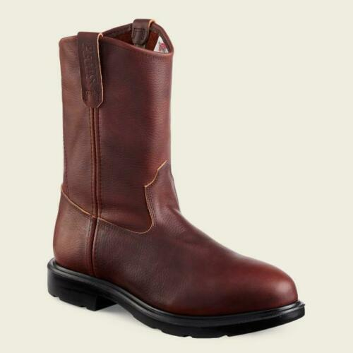 """Red Wing Steel Toe EH Resistant Supersole 11/"""" Pull On Boots 4470 Briar Pit Stop"""