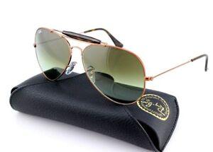 136d5e8f2d NEW Genuine Ray-Ban OUTDOORSMAN II Bronze Green Sunglasses RB 3029 ...