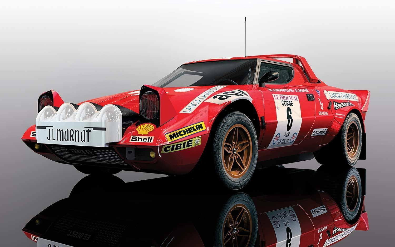 Scalextric C3930 LANCIA STRATOS Tour de Corse Rally de France 1975, come nuovo inutilizzato