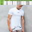 Echt-T-Shirt-Muscle-Men-039-s-Gym-Fitness-Bodybuilding-Training-Top-Cotton-Tee-New miniatura 10