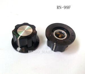 2PCS-20x-12mm-Bakelite-Fluted-Skirt-Guitar-AMP-Effect-Pedal-Stomp-Box-Knob