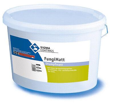 Schutz Vor Schimmel Systematisch Sigma Fungimatt 12,5 L Weiss Bakterienbefall - Pilz- U