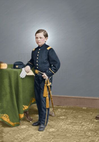 Thomas Tad Lincoln Color Tinted photo Civil War 4223066218