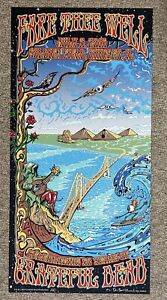 EMEK Grateful Dead Fare Thee Well Poster - Signed and