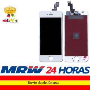 Pantalla-Completa-para-Iphone-SE-Blanca-Blanco-Tactil-LCD-Marco
