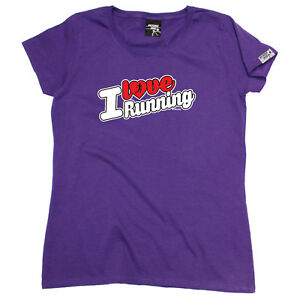 Running-Tops-T-Shirt-Funny-Novelty-Womens-tee-TShirt-I-Love-Running-Stencil