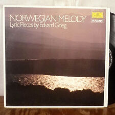 Norwegian Melody Lyric Pieces by Edvard Grieg LP GD Musikfest west germany EX