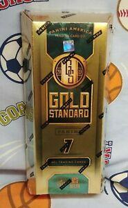 2019-Panini-Gold-Standard-Football-Hobby-Box-5-Autos-or-Memorabilia-Cards