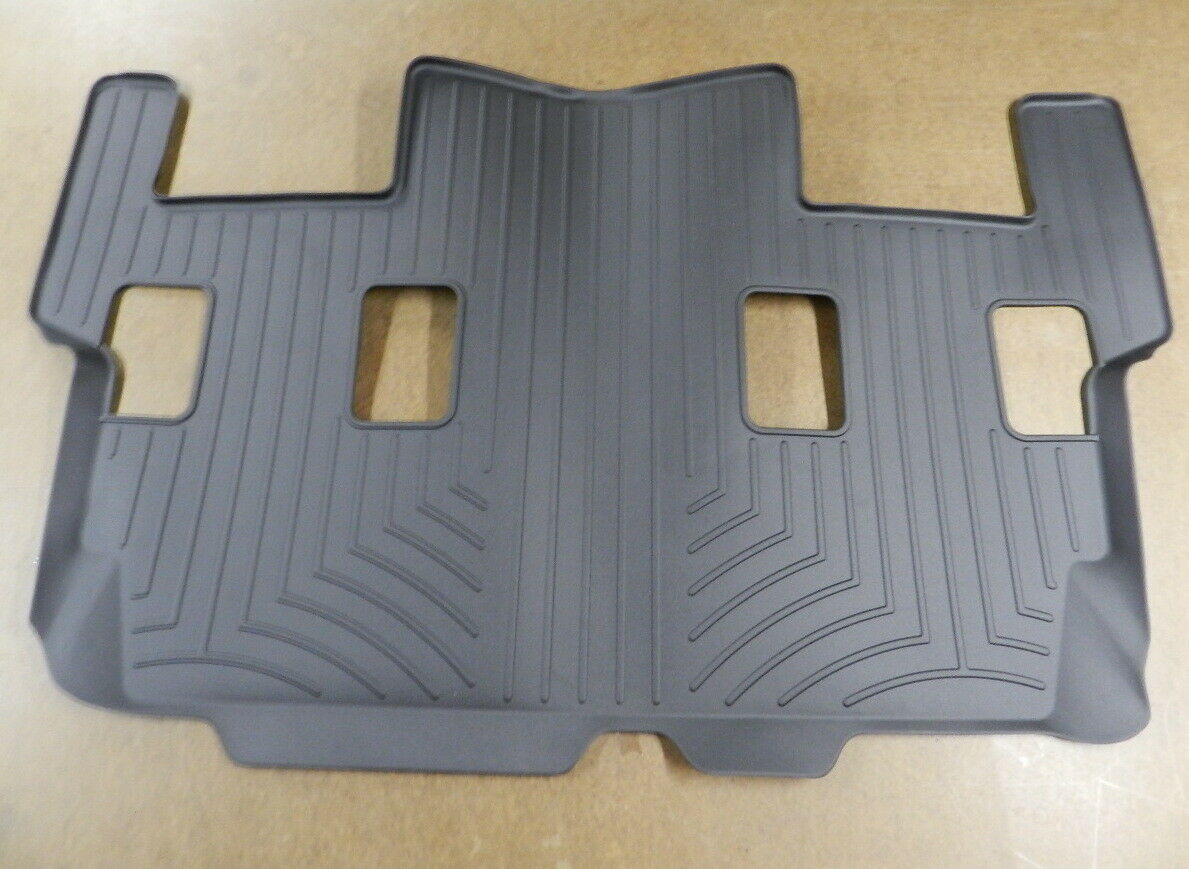 WeatherTech Custom Fit 3rd Row Rear FloorLiner for Ford Expedition Black 441076