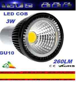 BOMBILLA-FOCO-LED-COB-GU10-3W-BLANCO-CALIDO