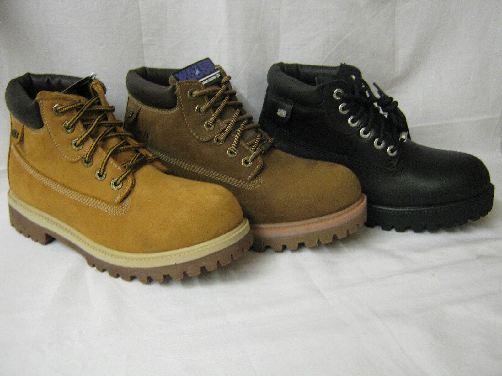 Mens Skechers Lace Up Boots   Verdict
