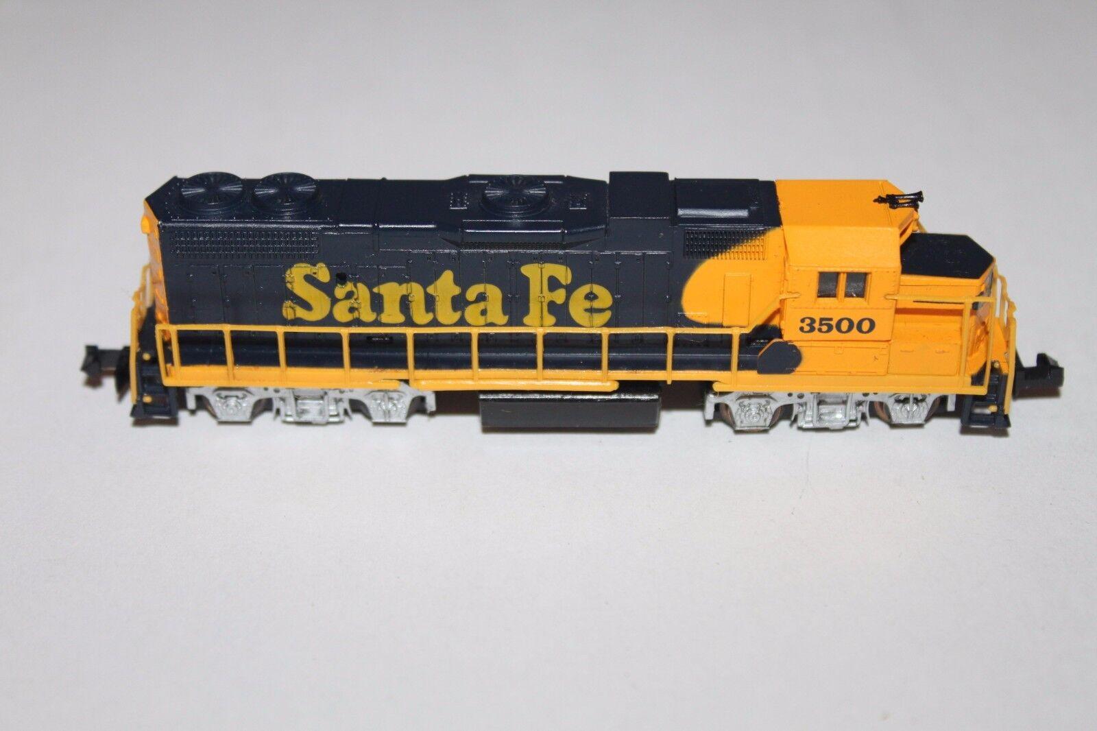 N Scale Life-Like 7843 Santa Fe GP-38 Diesel Locomotive 3500  N688