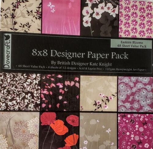"Dovecraft Eastern Bloom 8/"" Sample Paper Pack"