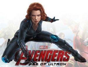 Image Is Loading Movie POSTER The Avengers Age Of Ultron Scarlett