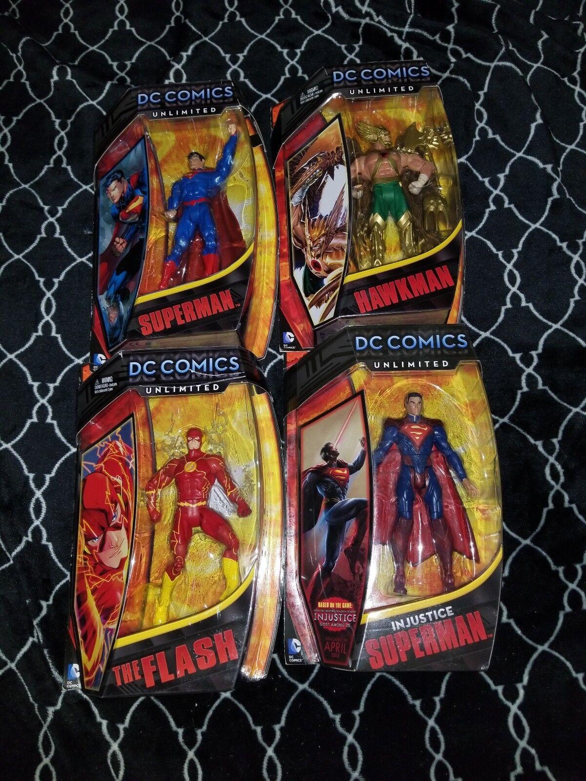 Nuevo DC Comics Unlimited 6 Pulgadas el Flash súperman El Hombre Halcón súperman injusticia