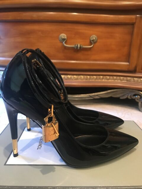 Authentic Tom Ford Black Patent Leather