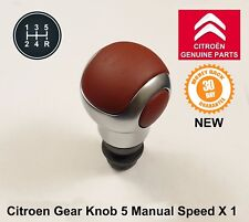 Citroen C3 DS3 Dispatch Spacetourer Manual 6 Speed Gear Knob Gearstick Zamak