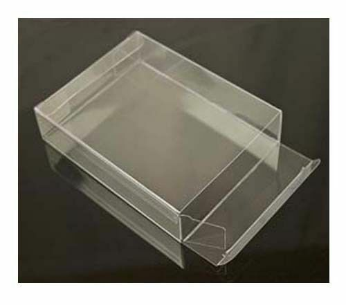 50 PCS 5x1-7//8x1-7//8 Side Closure Clear PVC Plastic Boxes Display Party Favor