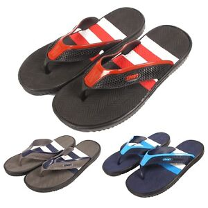 428821f51d385 MENS FLIP FLOPS SANDALS BEACH SHOWER SUMMER BEACH POOL TOE POST ...