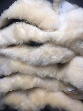 Lambskin / Sheepskin  Offcuts Cream Bowron 1 kgapprox