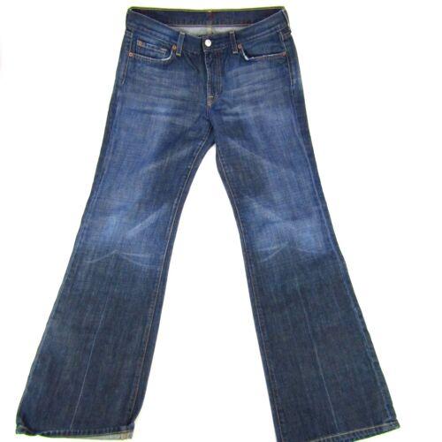 Jeans X For 7 Wash Taglia Womens Dark Mankind All Rise Mid 31 Boot 32 wgxd4Iqnx