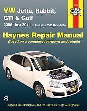 VW Jetta,Rabbit,GTI Golf 06-11 Haynes Repair Manual NEW Service Book owners Shop