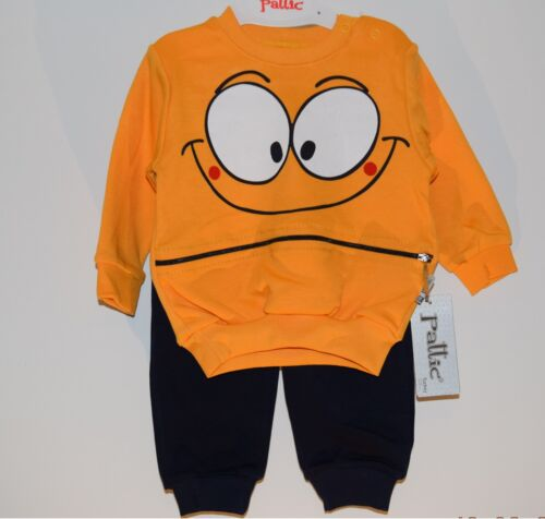 2PC Baby Boy Kids Toddler Long Sleeve Top+Pants Set Cotton Clothes 3-6-9-12-18M