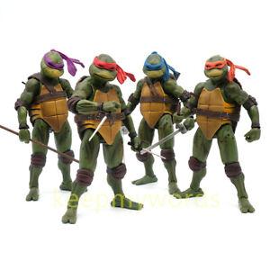 NECA-TMNT-Teenage-Mutant-Ninja-Turtles-Action-Figure-1990-Movie-7-034-PVC-Model-Toy