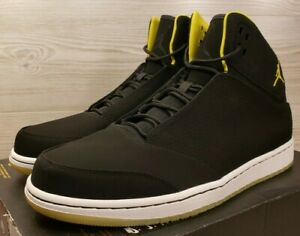 85125f9d891 RARE   Jordan 1 Flight 5 Premium Basketball Black Yellow 881434-031 ...