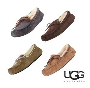 aa36a46e3d Image is loading NWT-UGG-Australia-Dakota-Moccasin-Slippers-Sandal-Home-