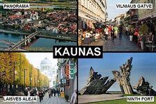 SOUVENIR FRIDGE MAGNET of KAUNAS LITHUANIA