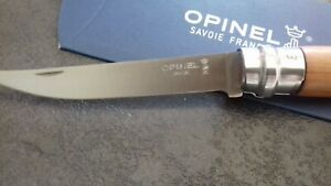 Couteau-OPINEL-effile-manche-MERISIER-n-10-collection