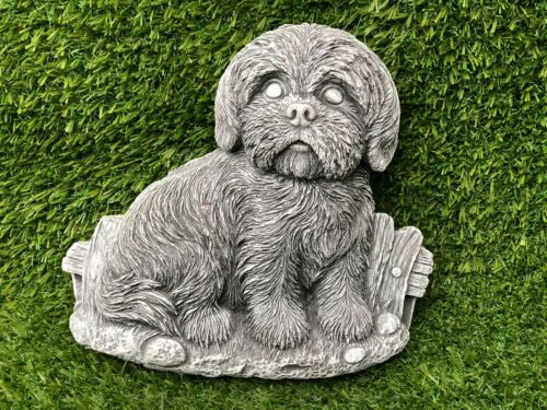 Latex Mould to make Dog wall plaque garden ornament