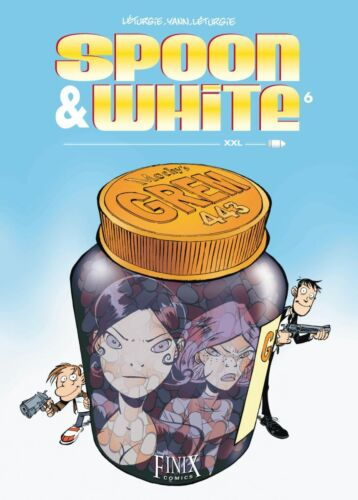 SPOON /& WHITE HC deutsch ab #1  komplette Serie LETURGIE//YANN Ehapa-Verlag//Finix