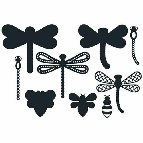 Paper Boutique Die Set Dragonflies And The BeeSet of 9