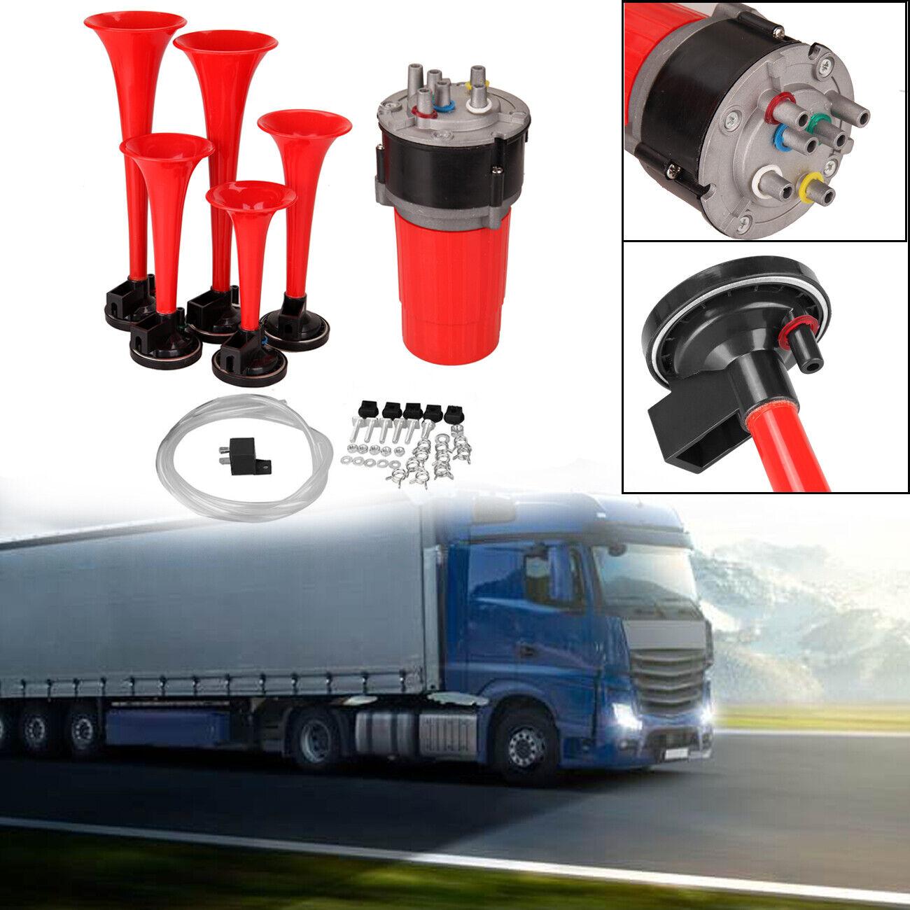 Eagle Truck Horn 74 cm Bootsfanfare 12 Volt Kompressor Nebelhorn Schiffshorn