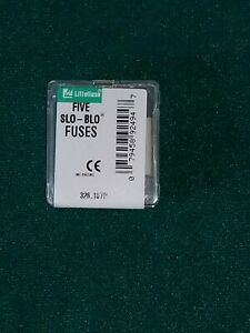 LOT OF 5 LITTELFUSE LF 326 1//8A 1//8 A 250V FUSES