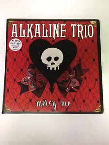 ALKALINE TRIO MERCY ME 2x7 INCH VINYL COMPLETE SET (2) RECORDS IMPORT NEW RARE