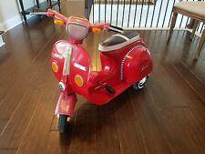 Vintage Vespa National Super Rider Pedal Scooter Tin RARE!!