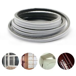Image is loading 5m-Weather-Draught-Excluder-Brush-Strip-Window-Door-  sc 1 st  eBay & 5m Weather Draught Excluder Brush Strip Window Door Seal Tape Self ...