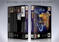 CASTLEVANIA. PAL VERSION. Box/Case. Nintendo 64. BOX + COVER. (NO GAME).