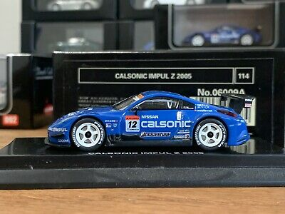 Nissan 350Z Calsonic Impul Z 2004,1//64 v.Kyosho Beads Collection #06008A,